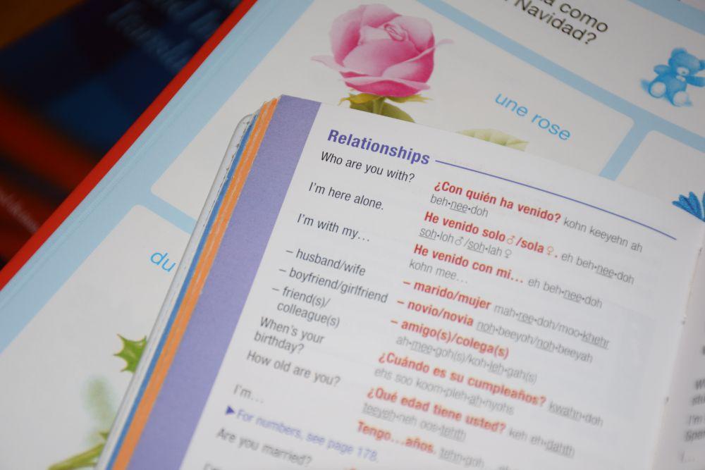 Honeymoon vocabulary