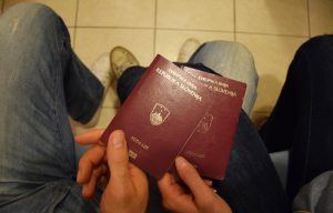 couple passports