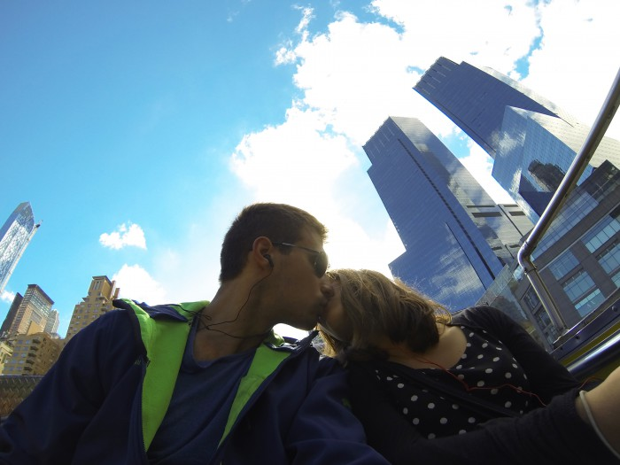 New York kiss