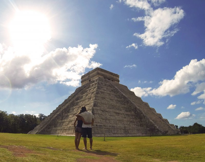 Chichen Itza honeymoon