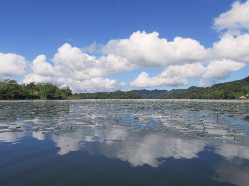 Guatemala boat ride
