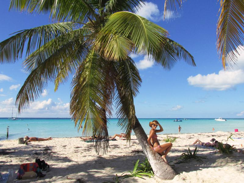 Isla Mujeres Mexico beach