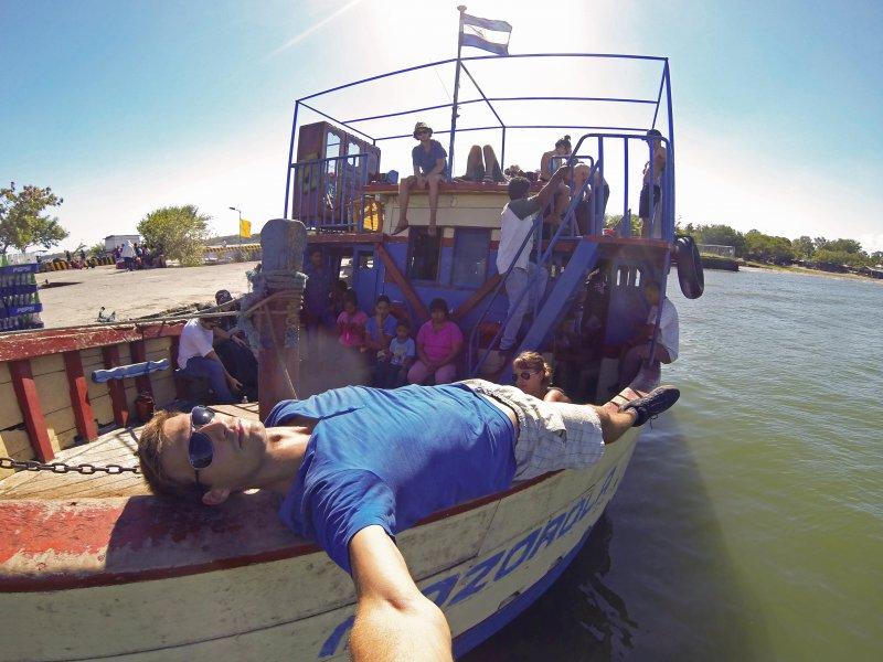 Nicaragua Ometepe ferry
