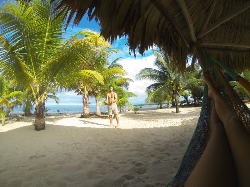 Placencia Belize beach