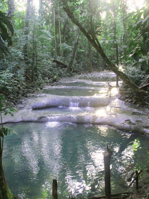 Siete altares Guatemala pools