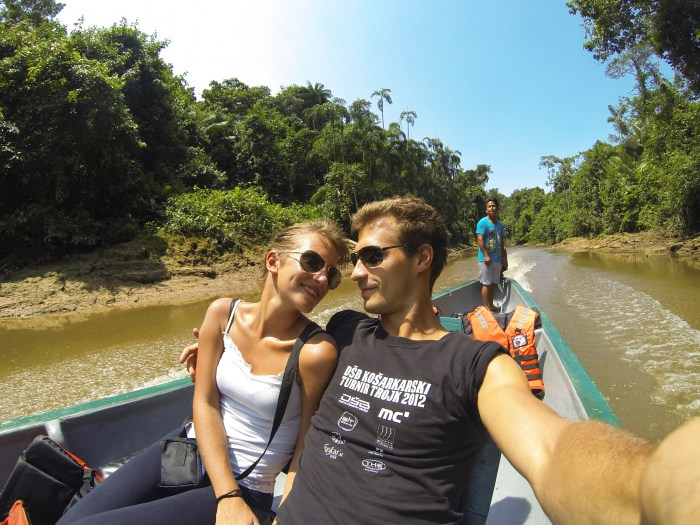 Amazon rainforest honeymoon