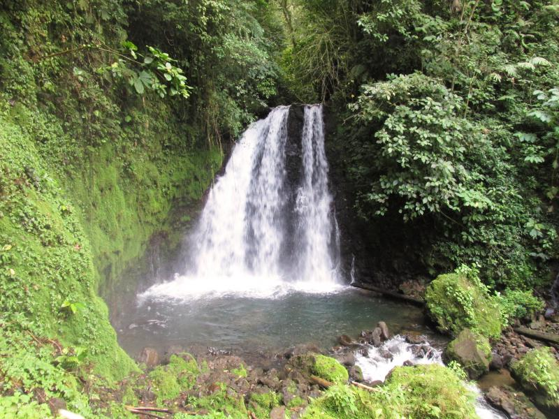 Arenal Volcano National Park waterfall