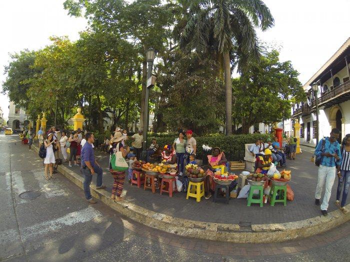 Cartagena street vendors