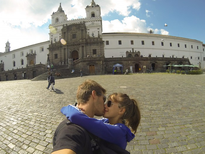 Ecuador honeymoon