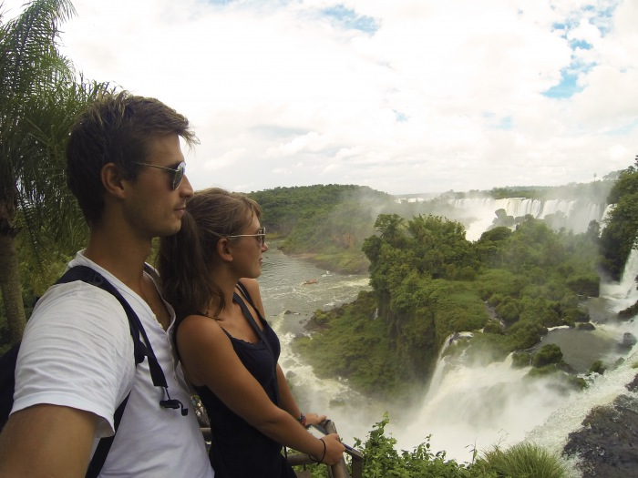 Iguazu falls honeymoon