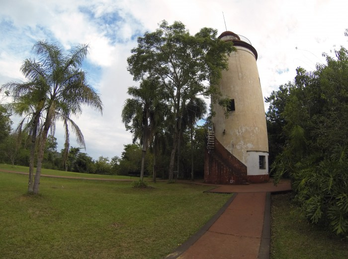 Iguazu national park trail