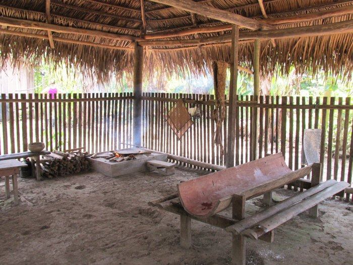 Indigenous village Amazon