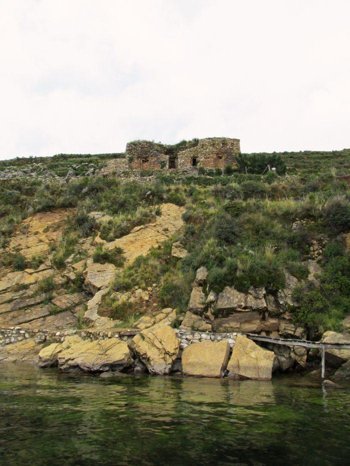 Isla del Sol Bolivia Inca ruins