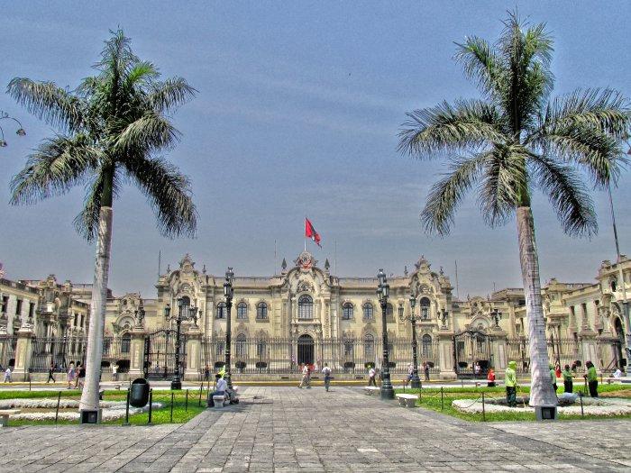 Lima Peru Plaza Mayor