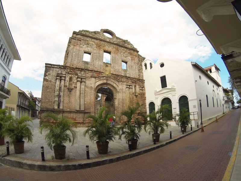 Panama old city