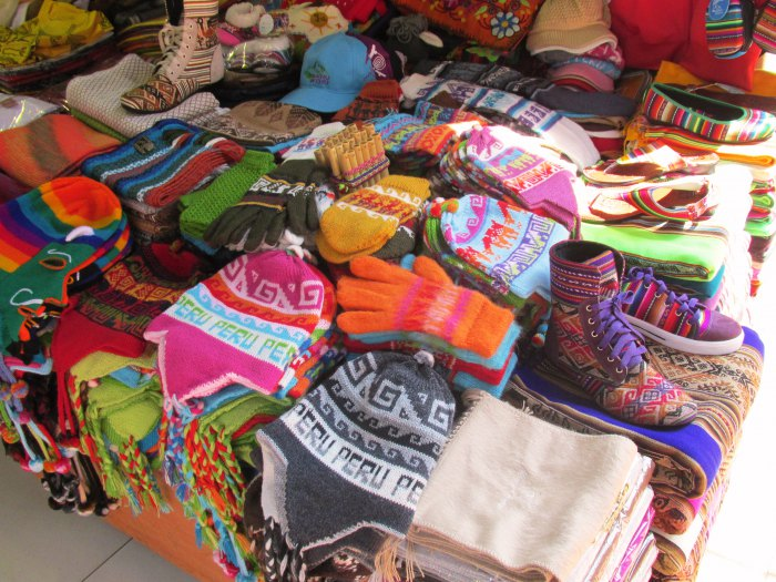 Peru handicrafts