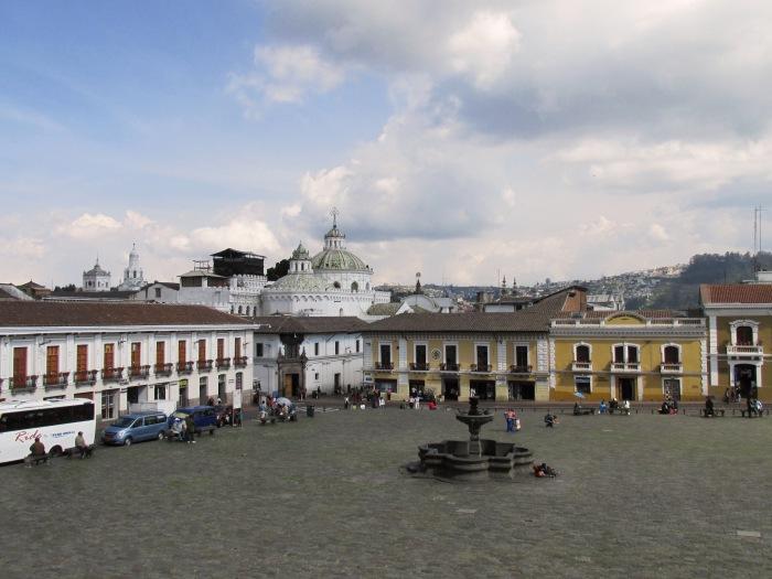 Quito Ecuador square