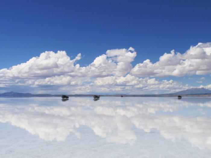 Salar de Uyuni Bolivia mirror effect