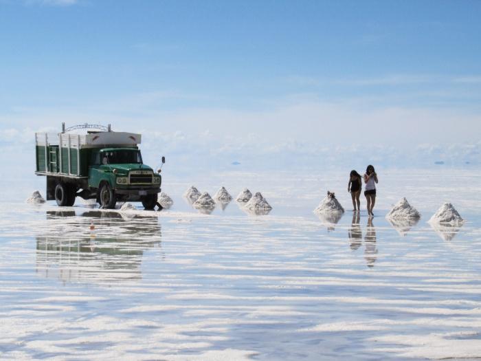 Salar de Uyuni salt