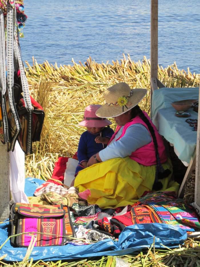 Uru people Peru