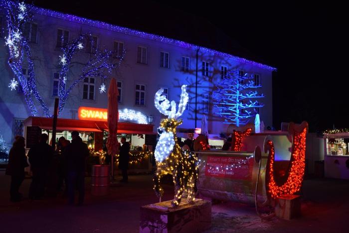 Advent in the Klovićevi Dvori decoration