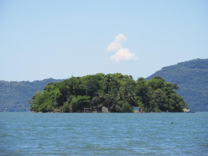 Paraty Brazil sea