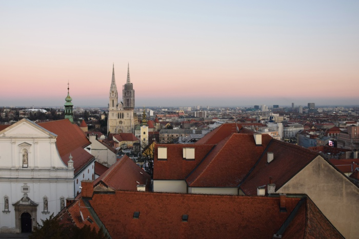 Zagreb view