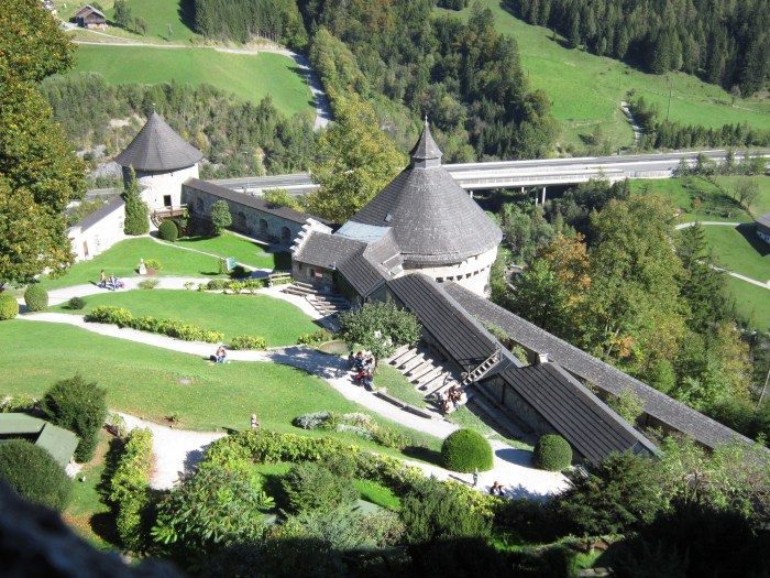 Hohenwerfen Castle Austria