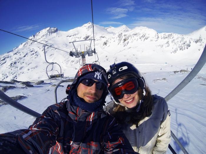Mölltal Glacier ski lift