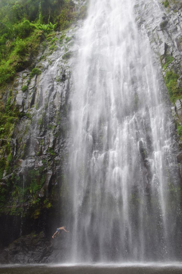 Moshi waterfall Tanzania