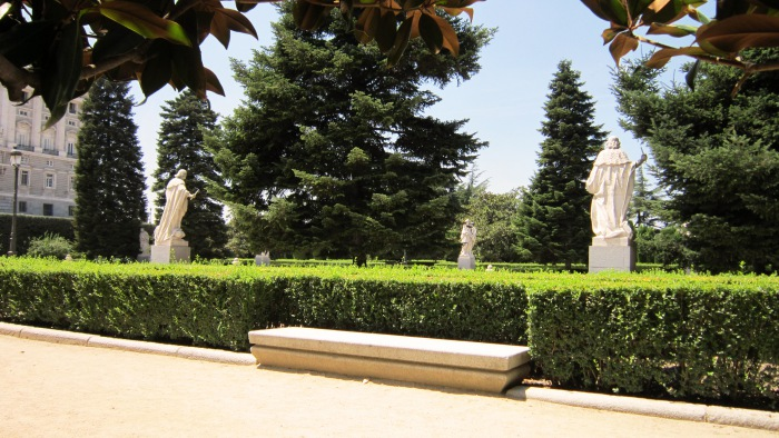 Campo del Moro gardens Madrid