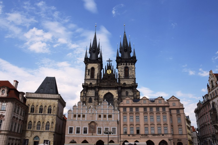 Church of Mother of God before Týn Prague