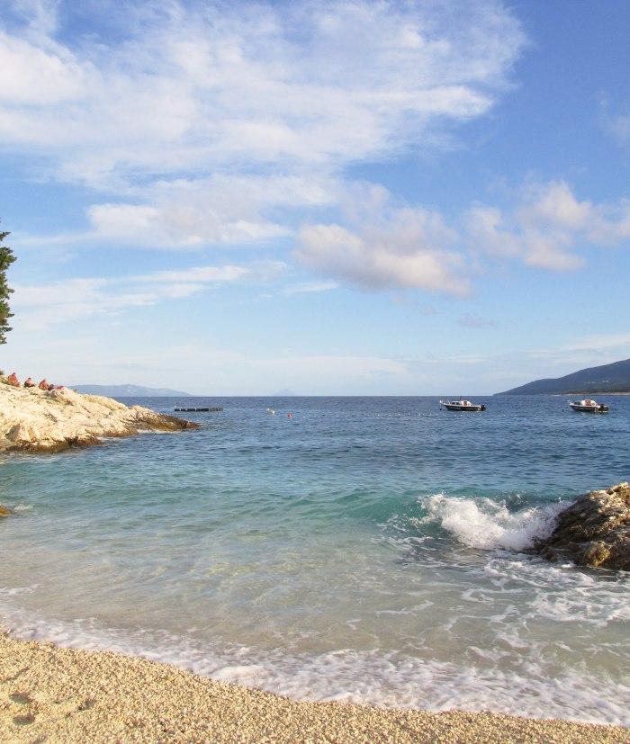 Croatia beach Rabac