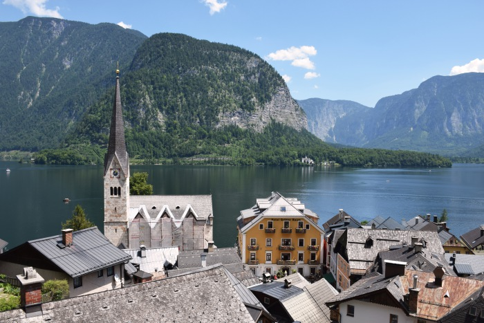 Hallstatt Evangelical Church of Hallstatt view
