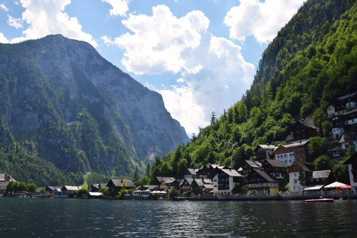 Hallstatt lake view