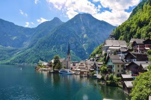 Hallstatt picturesque village