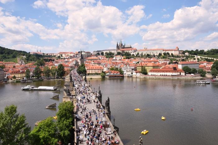 Old Town Bridge Tower view Prague