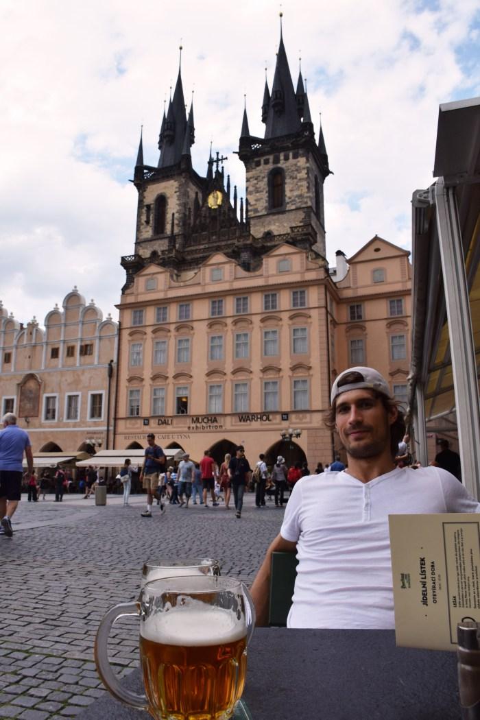 Prague Czech beer