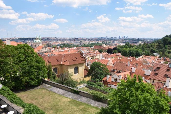 Prague Starbucks scenic view