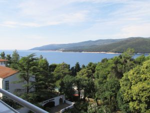 Rabac Croatia sea view