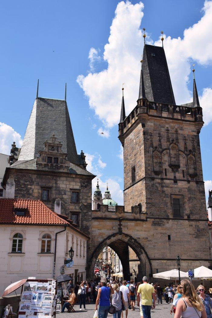 The heart of Prague