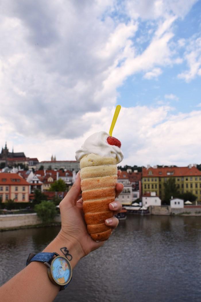 Trdelnik Prague food
