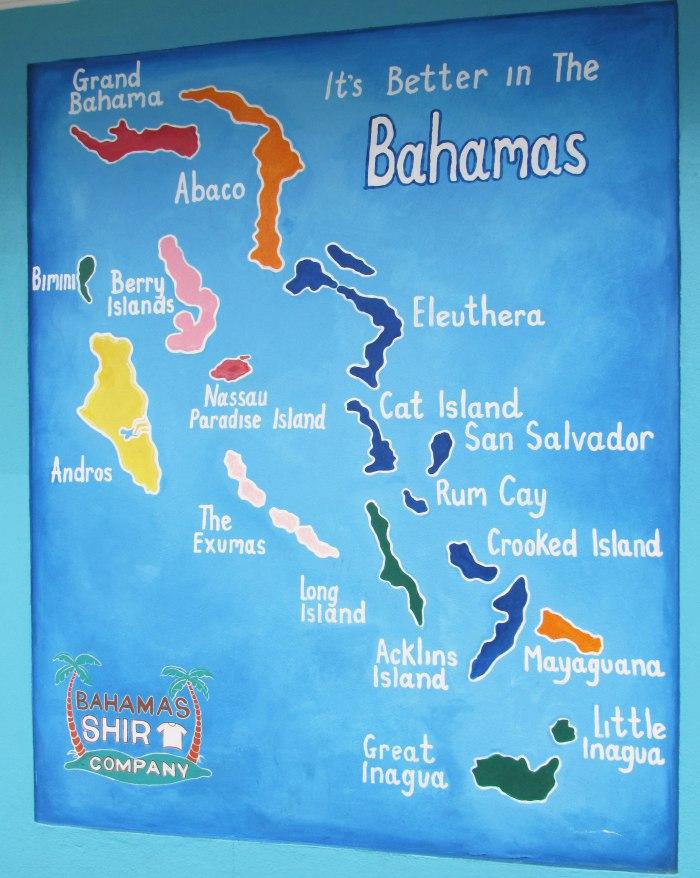 Bahamas Island Map