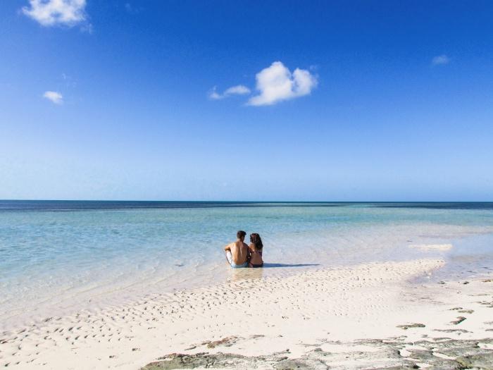 Bahamas couple vacation