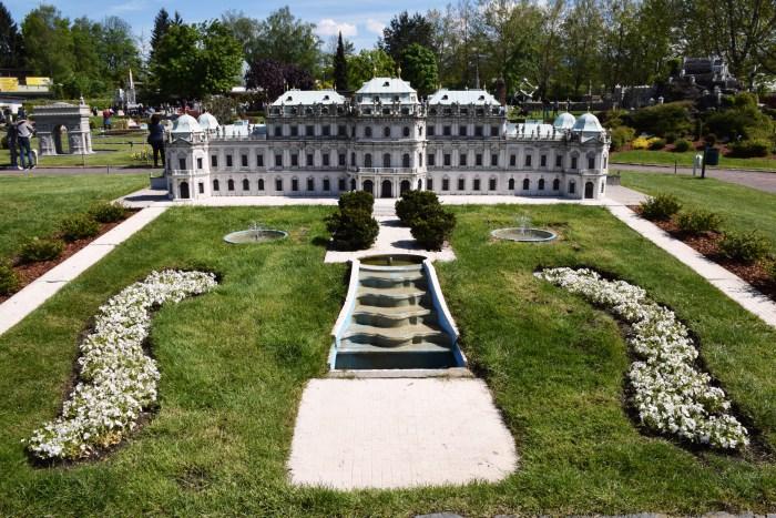 Belvedere Palace Vienna Minimundus