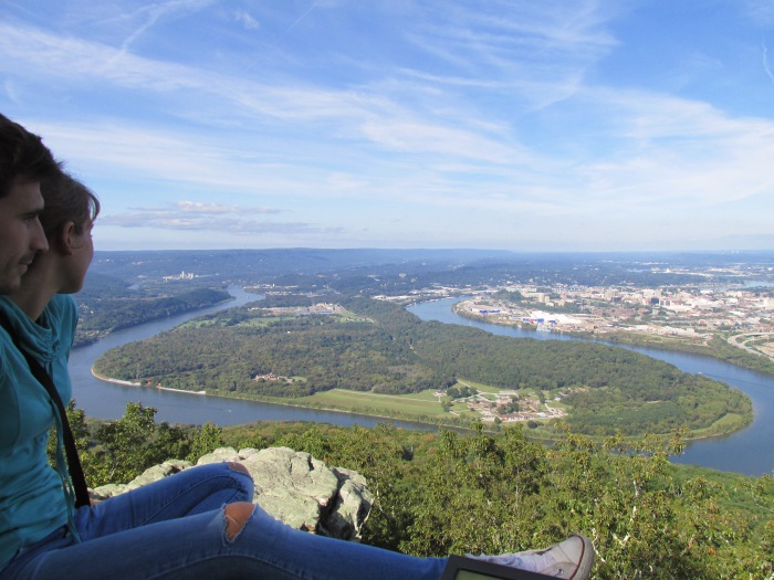 Chattanooga The Lookout Mountain view