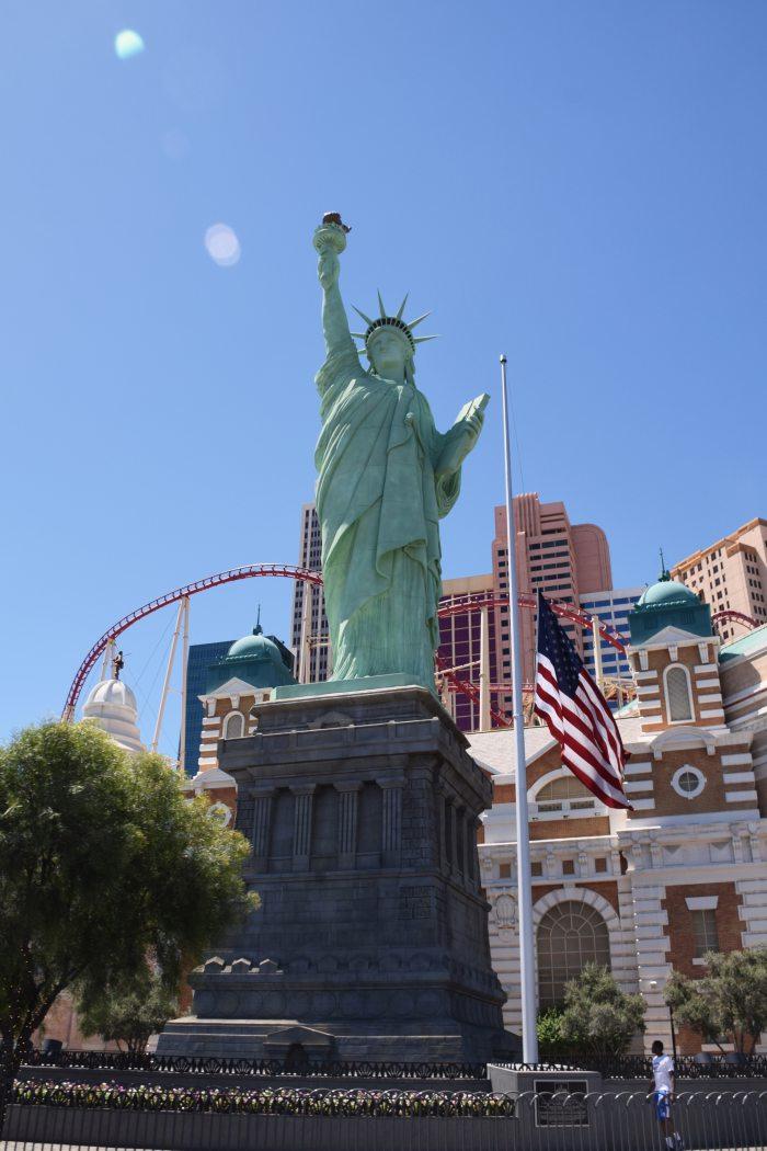 Las Vegas Statue of Liberty USA