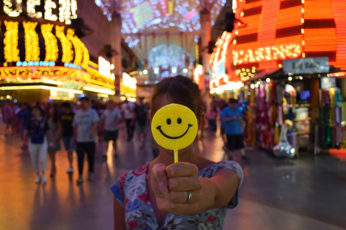 Las Vegas fun smile
