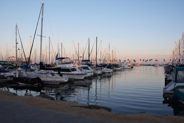 Long beach port LA