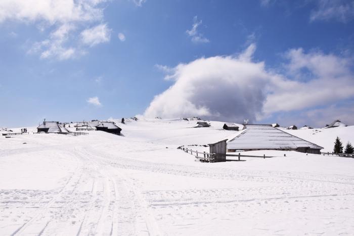 Mala Planina Slovenia winter